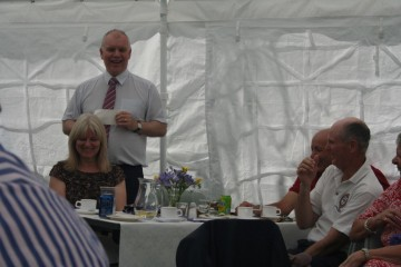 Headmaster at OCs Reunion Day, July 2015