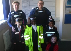 Year 2's trip to the Police Station