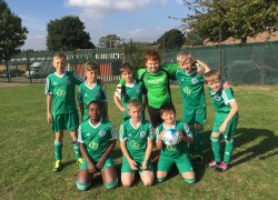 New Football Team Debut at Tournament
