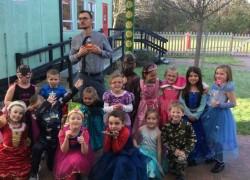 Superhero and Princess Day