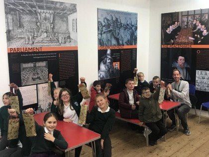 Children Visit Gunpower Mills