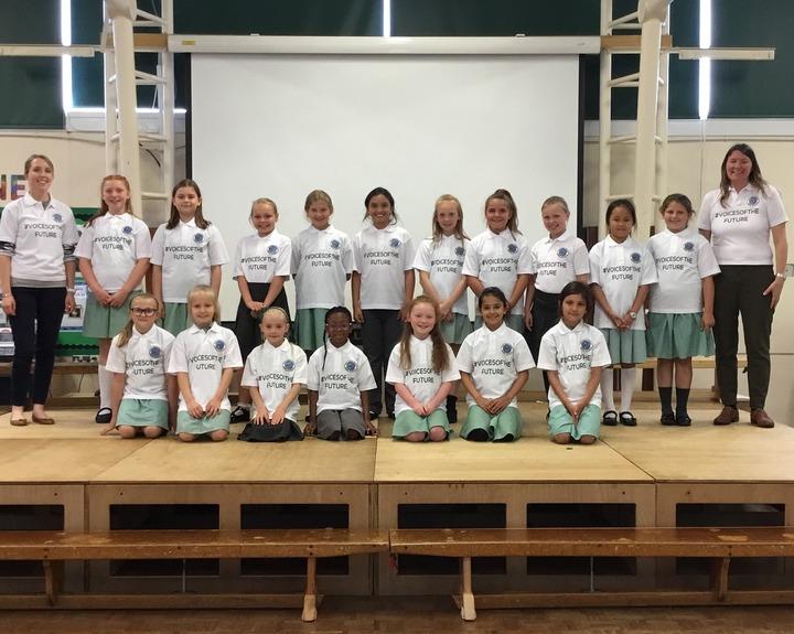 New school choir in demand