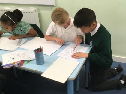 Children take over lessons