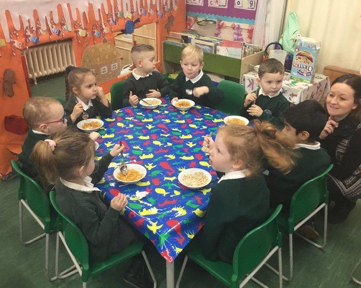 Free breakfast for school children