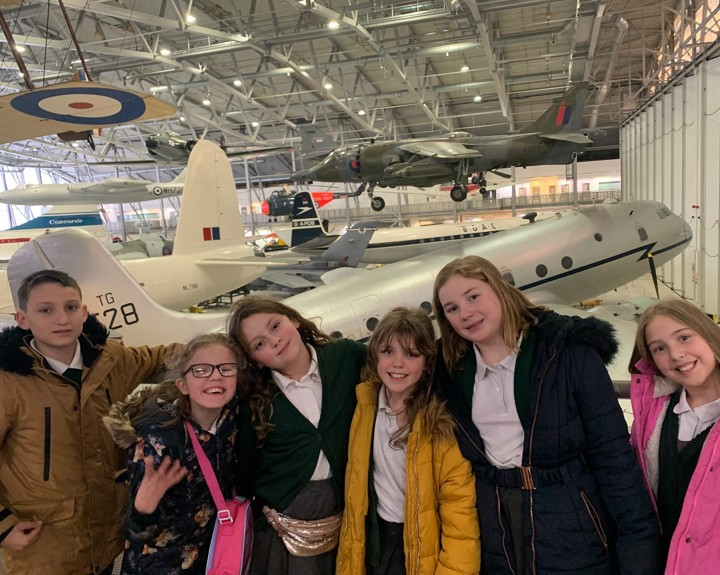 Duxford visit brings history to life