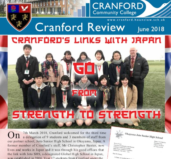 Cranford Review June 2018 edition