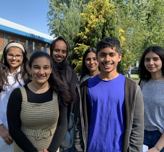 Record-breaking GCSE results again at Cranford Community College