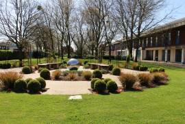 Front School & Memorial Garden