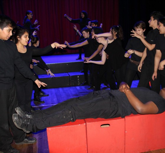 Read more - Performance of Macbeth at Beck Theatre