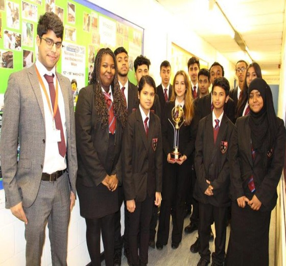 Read more - Cranford wins top Science and Maths Award!