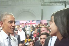 CCC students meet US President Barack Obama