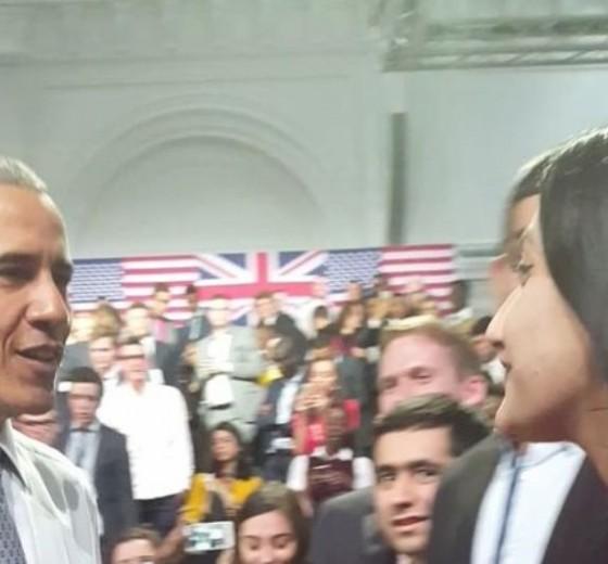 CCC students meet US President Barack Obama