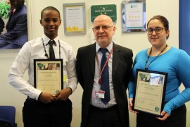 World Class School Award - Again at Cranford Community College