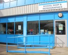 School shop front image