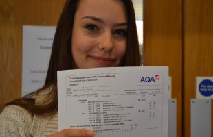 A Level Results Day - Aug 2014