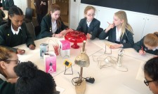 STEM club visit the Design Museum