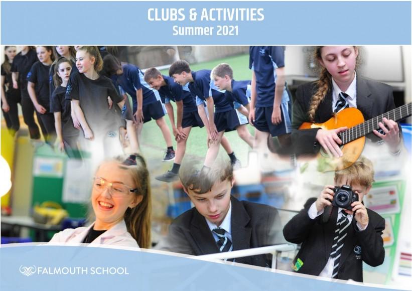 Clubs & Activities Update April 2021