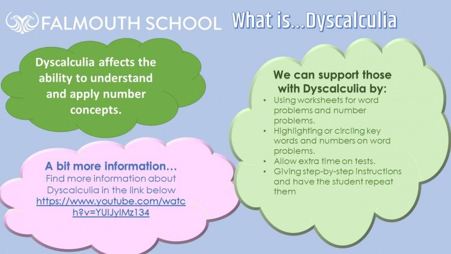 Week 19 - Dyscalculia