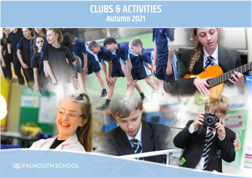Clubs and Activities booklet Autumns 2021
