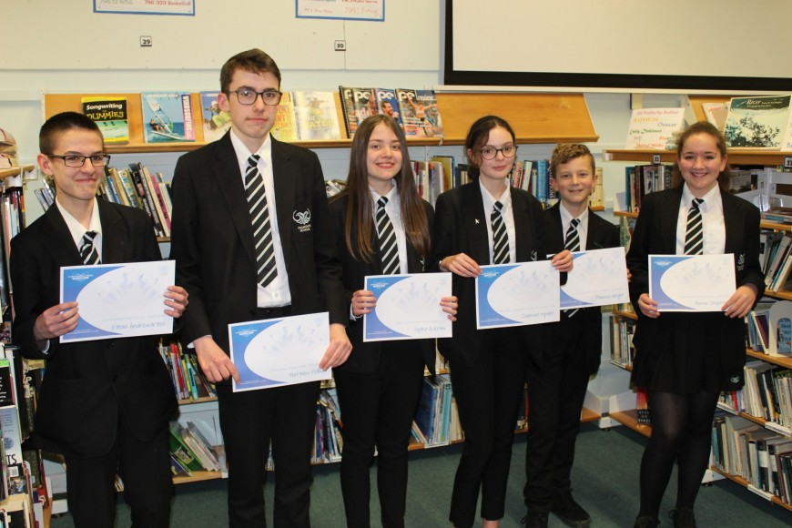 Commendation Winners March 2018