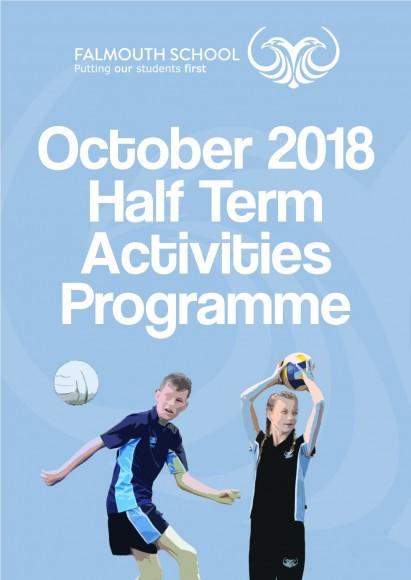 October Half Term Activities Programme