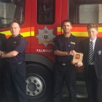 Donation from Fire Station