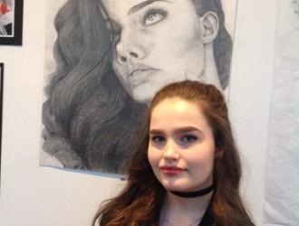 Art award for Jenna