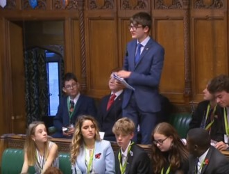 Will speaks at House of Commons