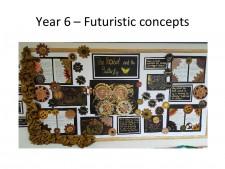 Year 6 futeristic concepts