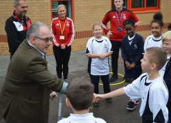 PE apprentices welcome Robert Halfon MP visit