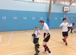 PE sessions for SEND pupils a success
