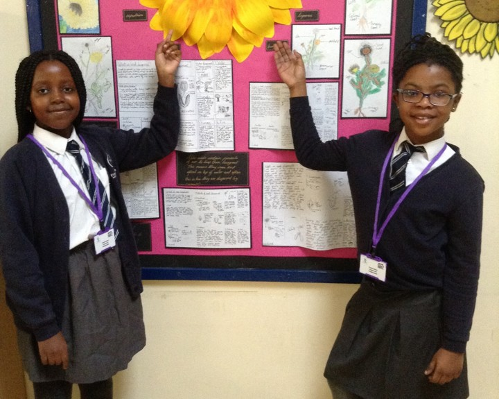 Visitors welcomed by classroom ambassadors