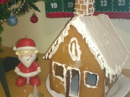 Erik's Gingerbread House