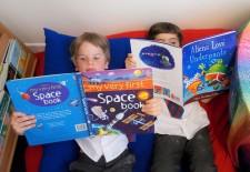 Luke & Enzo, Space Books
