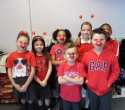 Red Nose Day fun at Harris Primary Academy Chafford Hundred!