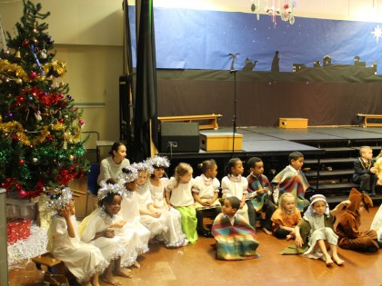 Christmas Nativity YReception...