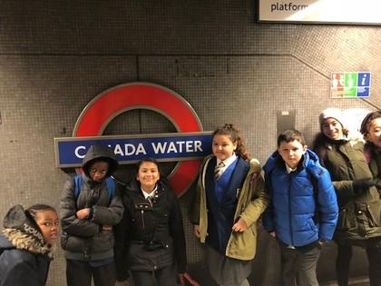Year 6 trip to the London Eye