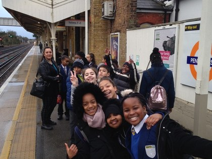 Year 6 trip to the Centre of t...