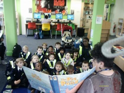 Mint Class visit to Dulwich Li...