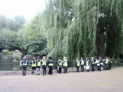 Year 1 trip to Peckham Park