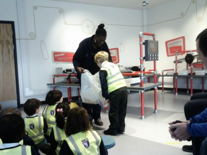 Dill Class trip to the Veolia...