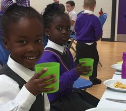 Our first 'Always Award' lunch of the year