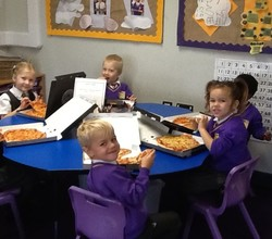 Reception Pupils Visit Pizza Express