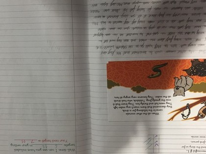 Year 2 Work examples