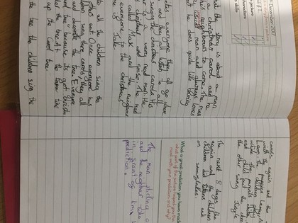 Year 3 Work examples