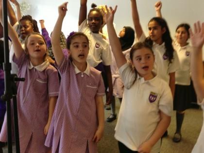 Choir record Haringey Schools...