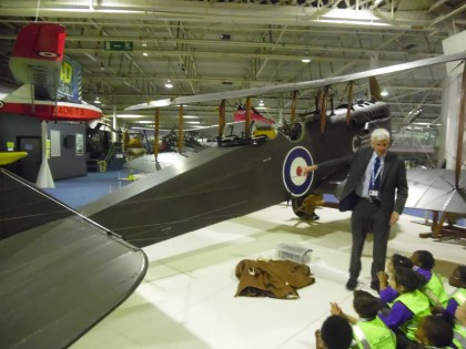 Year 2 visit the RAF Museum