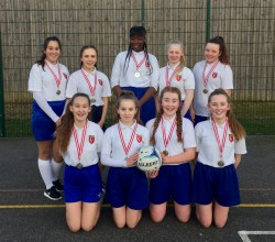 Our Y9 Girls Gallently Achieve 2nd Place in the Federation Netball Tournament
