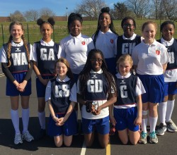 Well Done to our U12 Girls Netball Team!