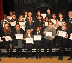 Bromley Rotary Club Youth Award Ceremony